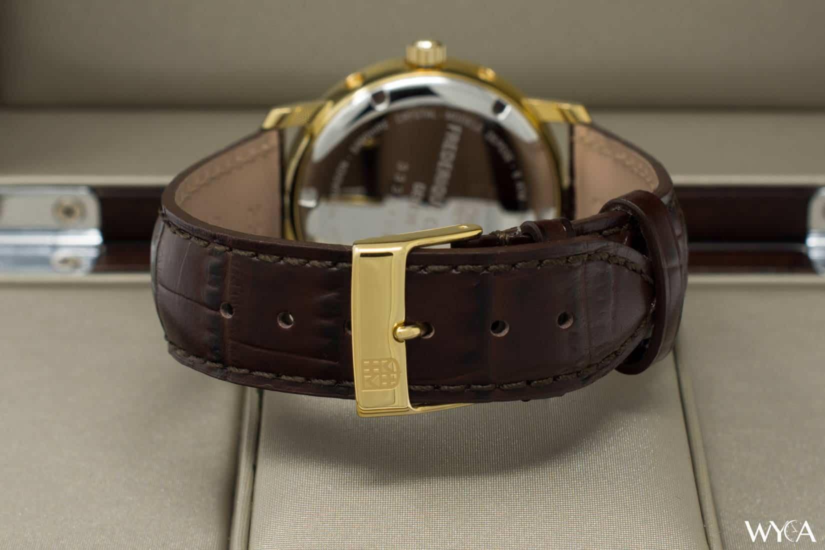 Frederique Constant Classics Business Timer FC-270SW4P5 Buckle