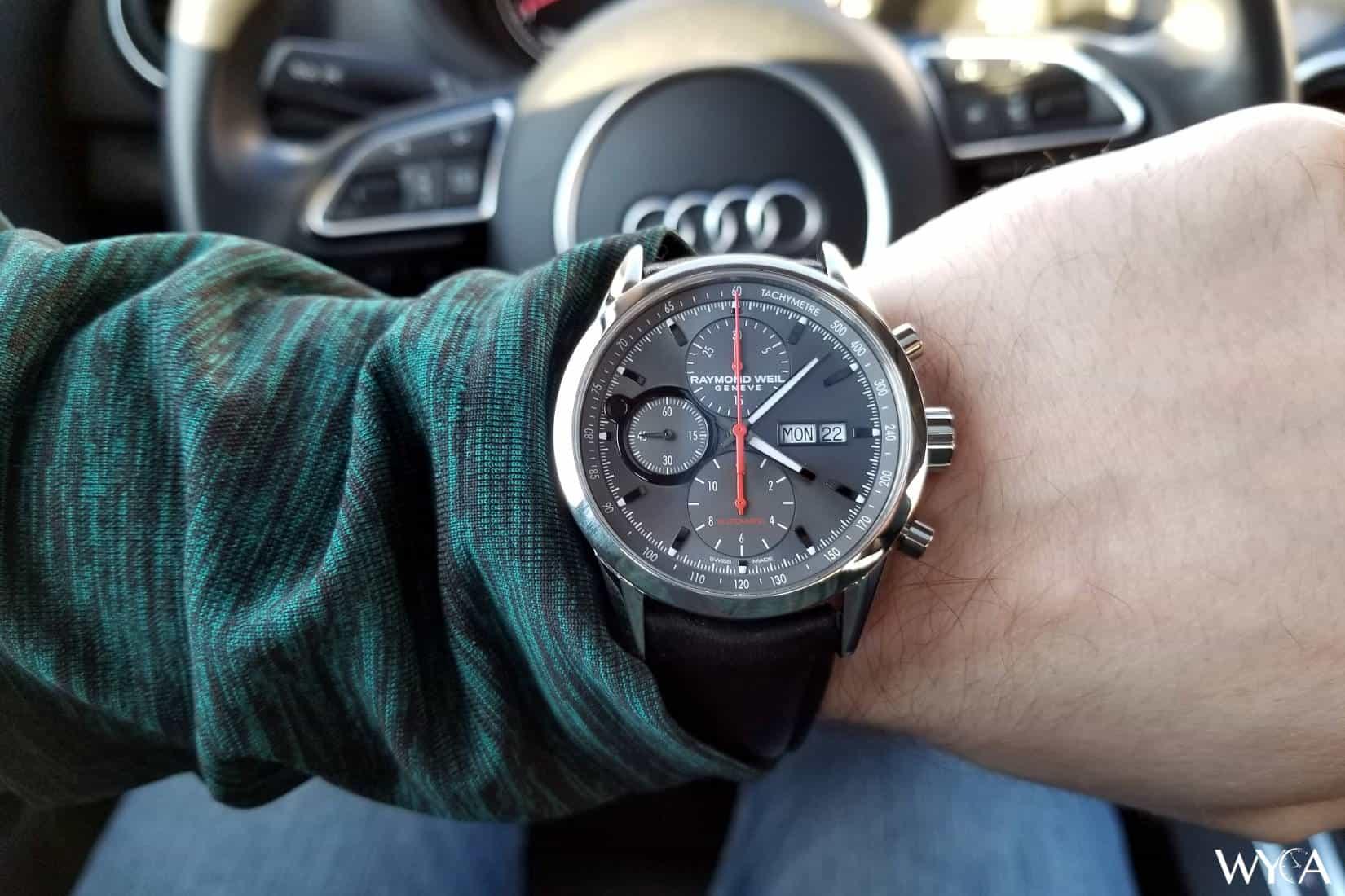 Raymond Weil Freelancer Chronograph Wrist Shot