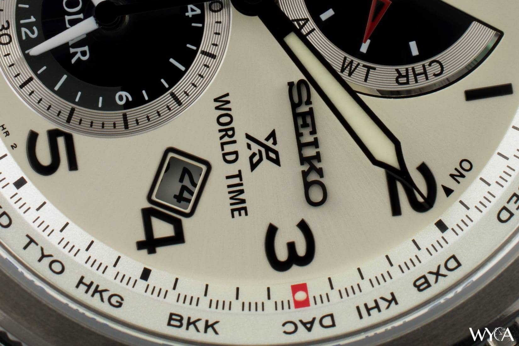Seiko Prospex Solar World Time SSC509 (Macro)