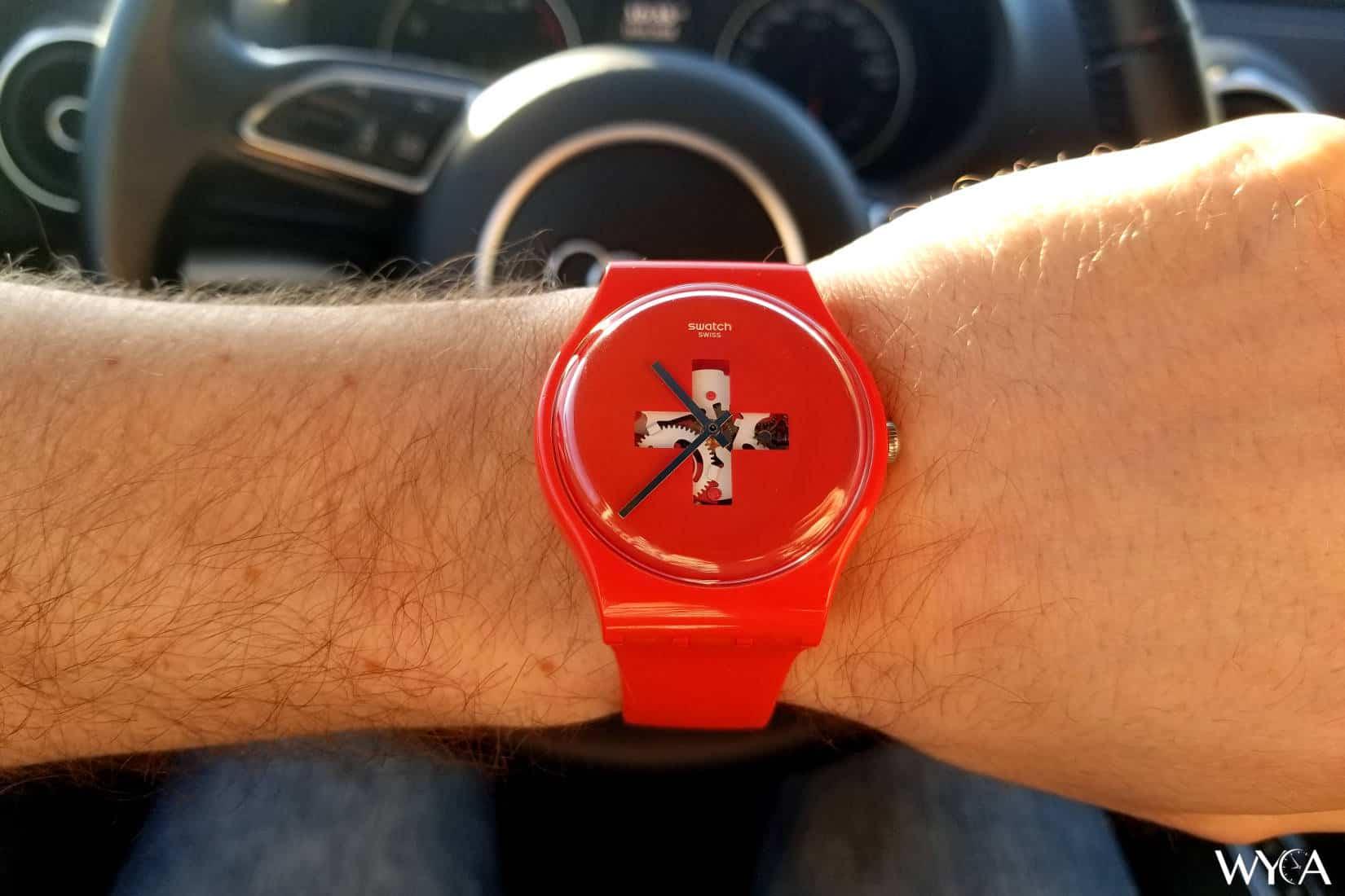 "Swatch Originals ""Swiss Around the Clock"" SUOR106"