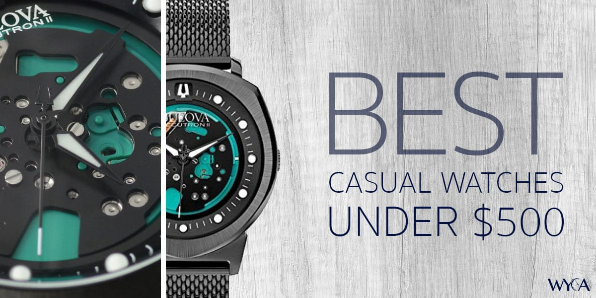 The Best Casual Watches Under 500 Reviews By Wyca
