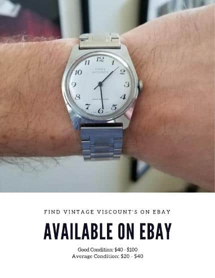 Shop for Vintage Timex Viscount on eBay