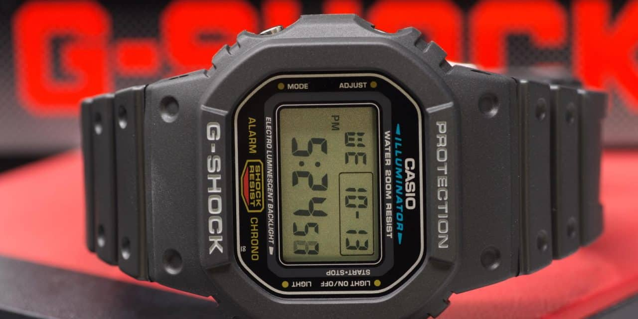 7a1d96bdea0d8 Casio G-Shock DW-5600E-1V
