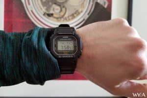 Casio G-Shock DW-5600E Wrist Shot