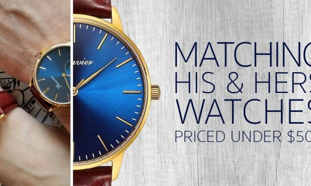 Matching His & Hers Watches Priced Under $500