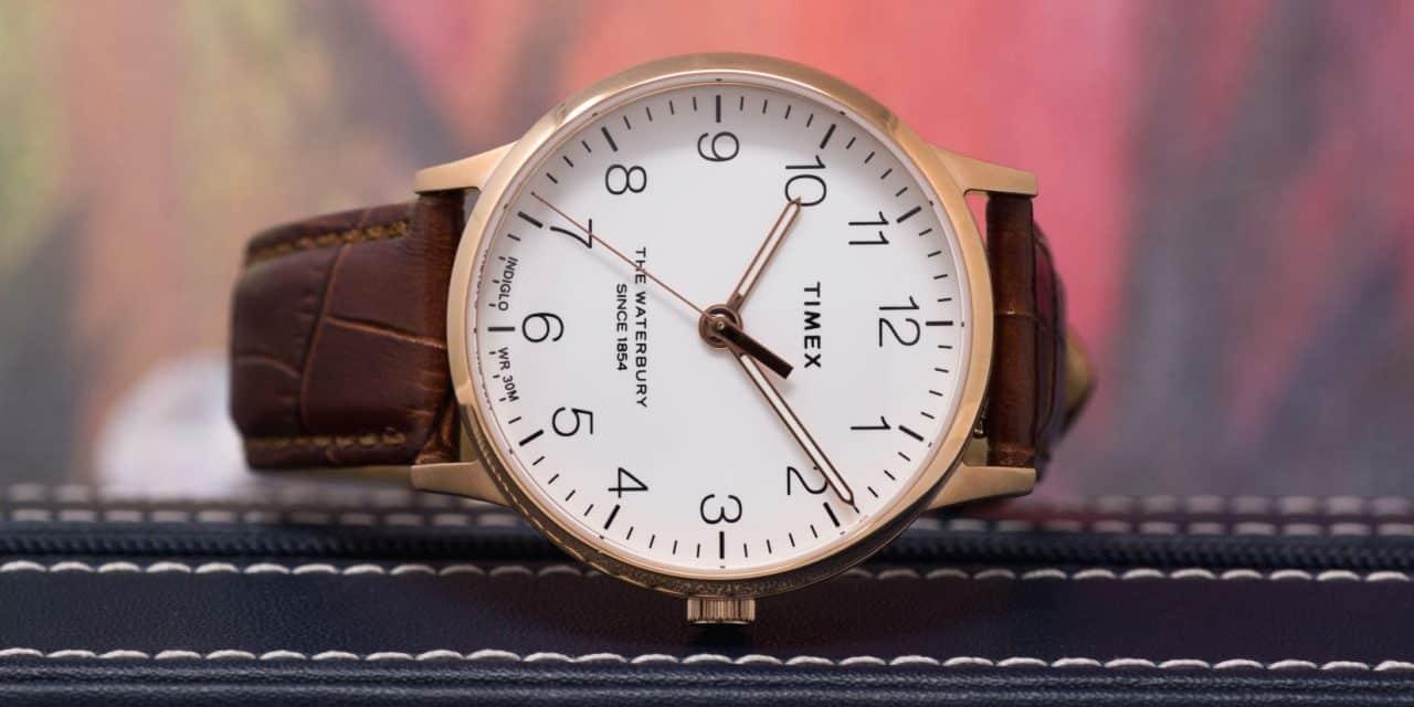 Timex Waterbury Classic in Rose Gold