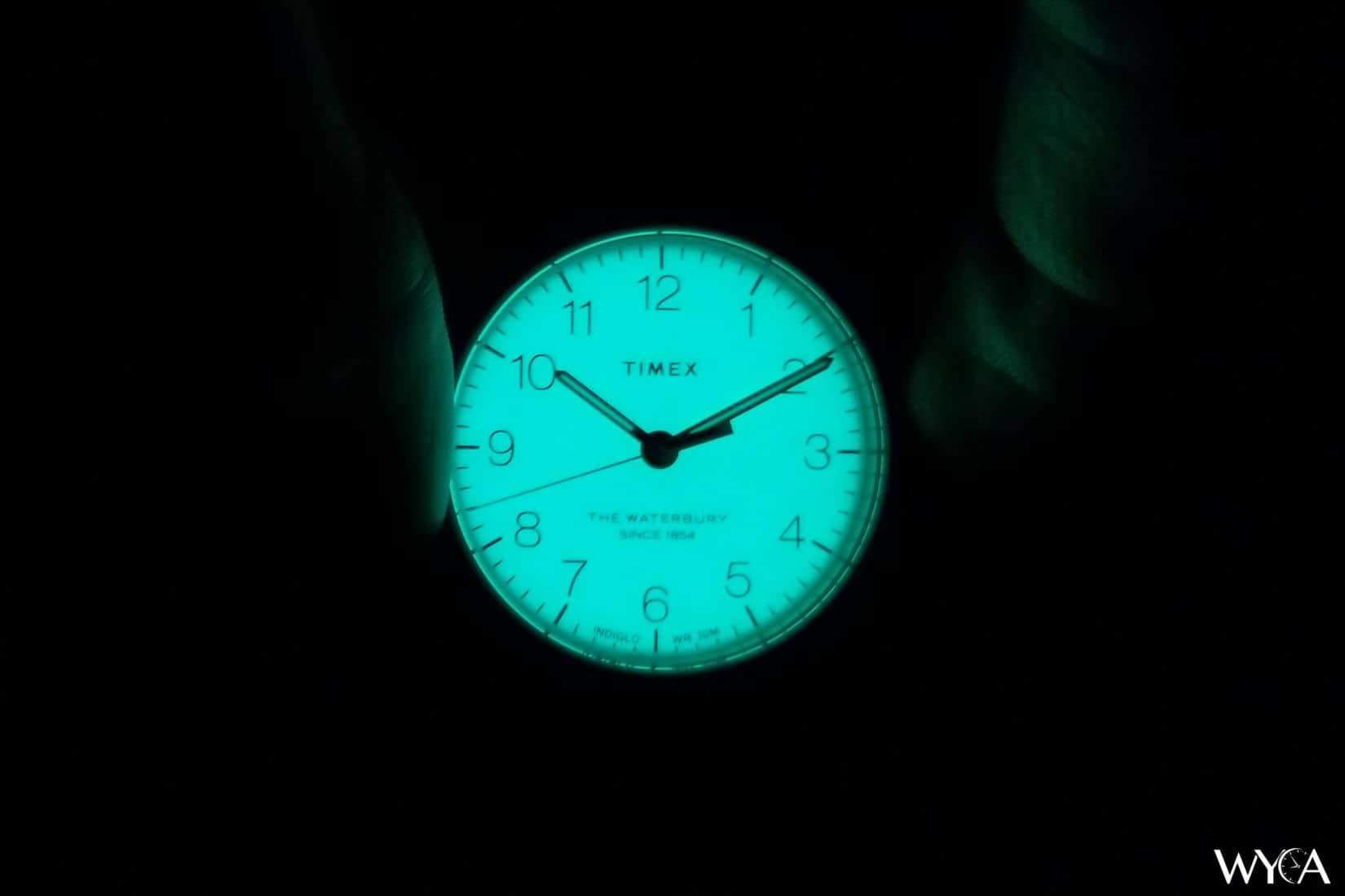 Timex Waterbury Classic Indiglo