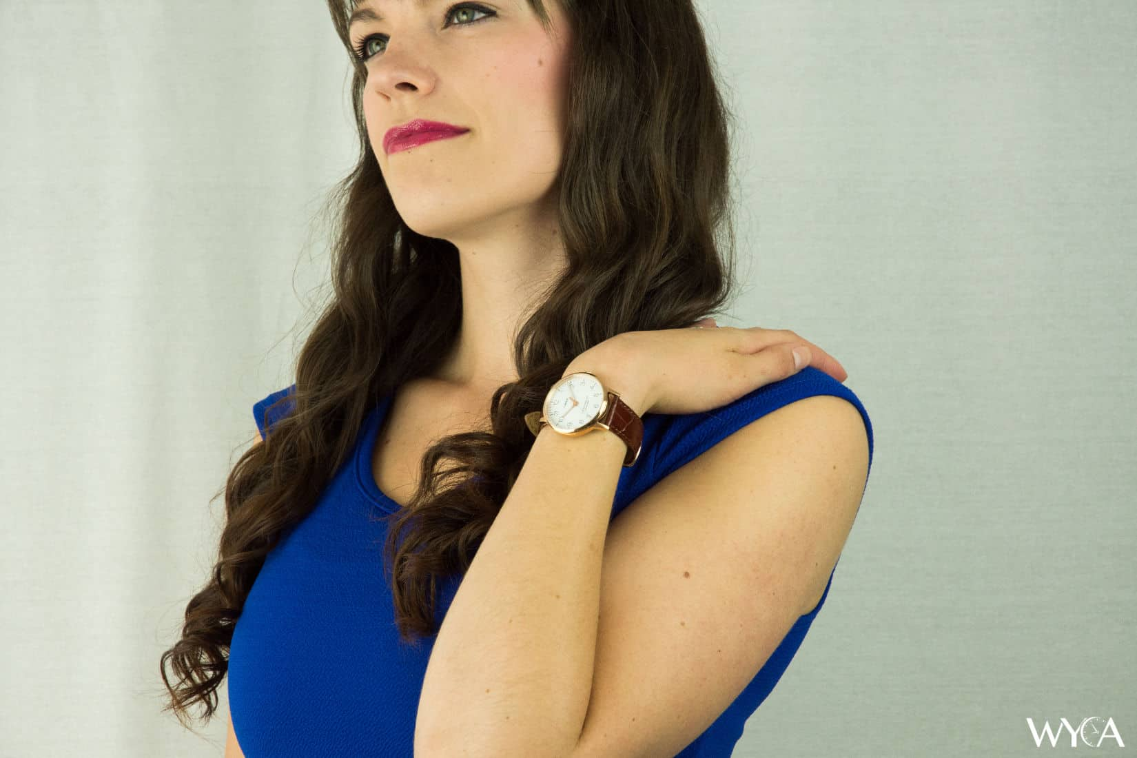 Timex Waterbury Classic on Melissa's Wrist