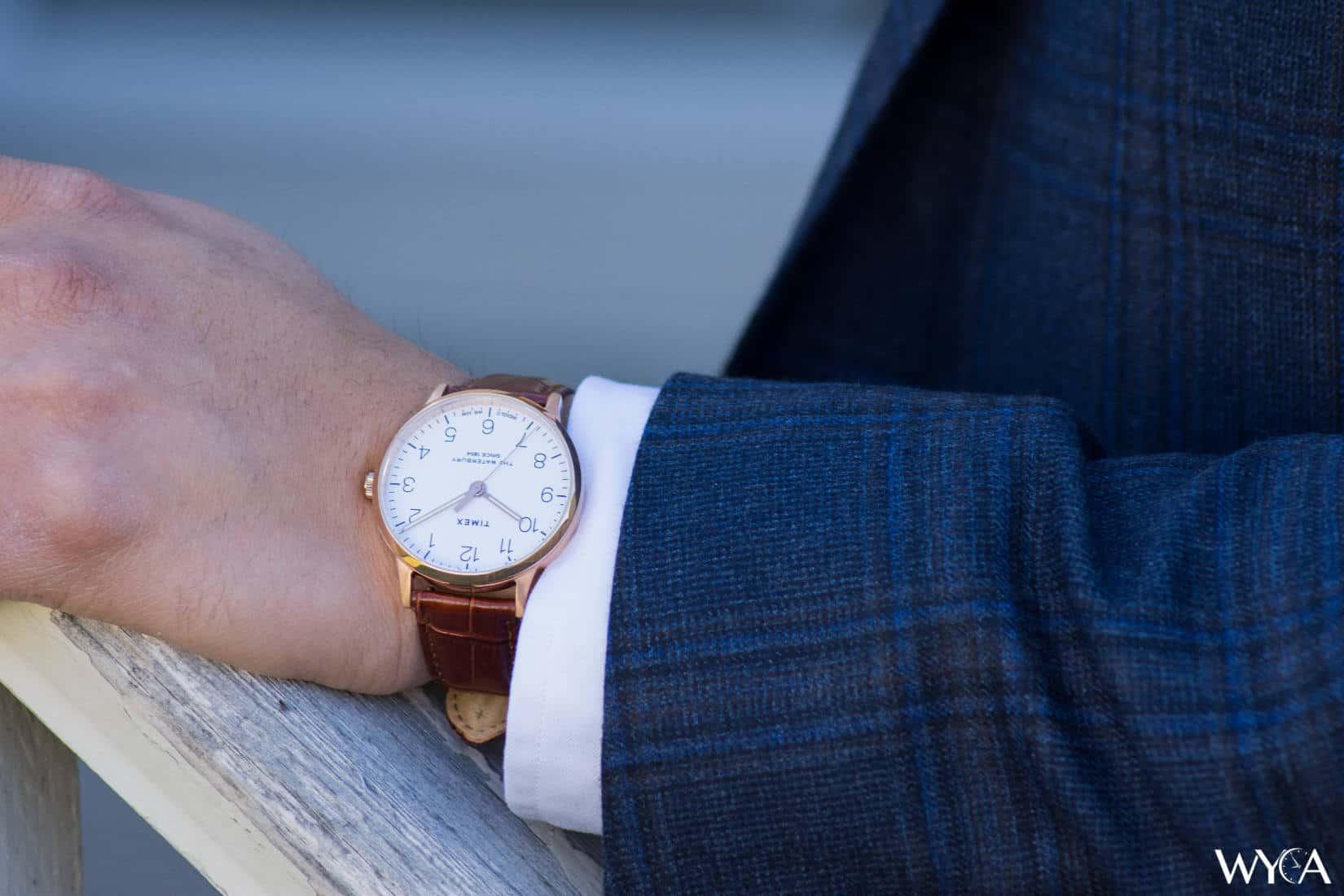 Timex Waterbury Classic on the Wrist