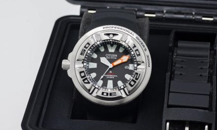 "Citizen Promaster ""EcoZilla"": One Serious Diver!"