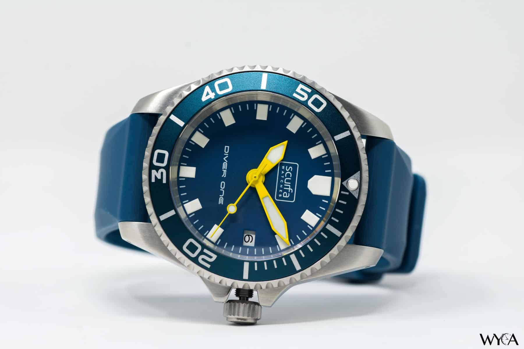 Scurfa Watches Diver One Blue