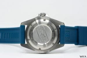 Scurfa Watches Diver One Blue Caseback