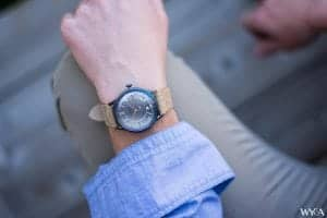 James McCabe Heritage Automatic Wrist Shot