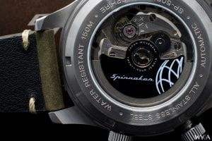 Seiko NH35 Automatic Movement in a Spinnaker Bradner
