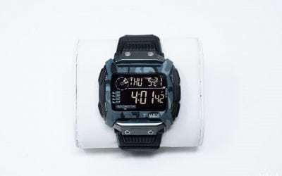 Wearing the Timex Command Shock