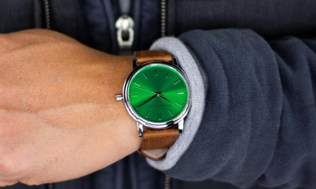 On the Wrist: Raymond & Pearl Horizon Aventure Green