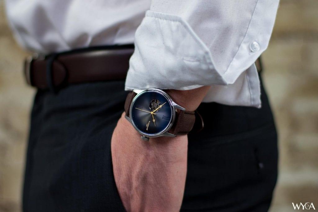 Thomas Earnshaw Precisto Bauer Fumée Wrist Shot