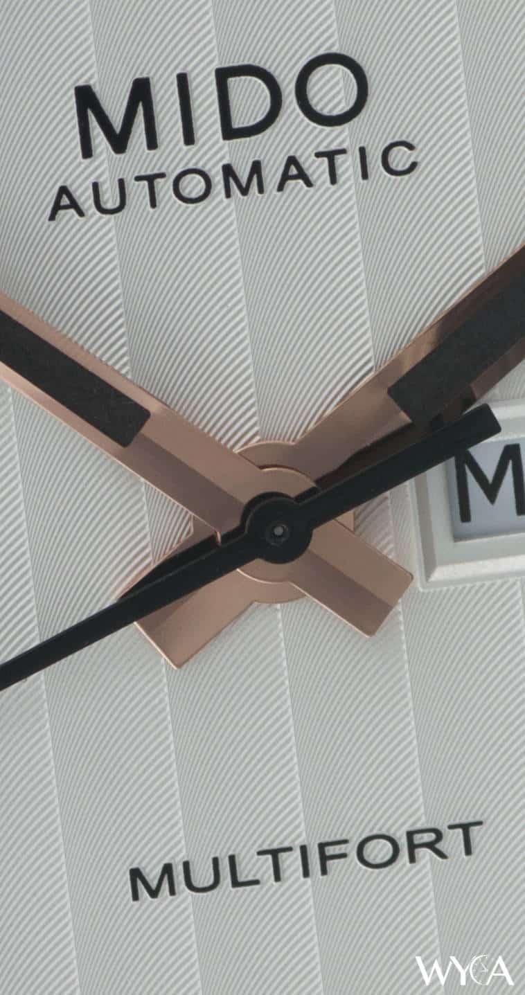Mido Multifort Dial - Macro