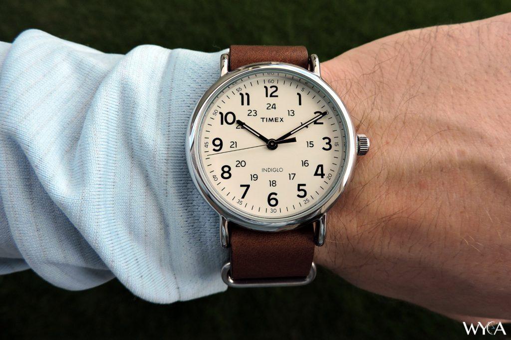 Timex Weekender 40 Wrist Shot
